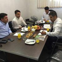 حضور مدیران کمپانی Yonnet در شرکت هوشمند تسلا